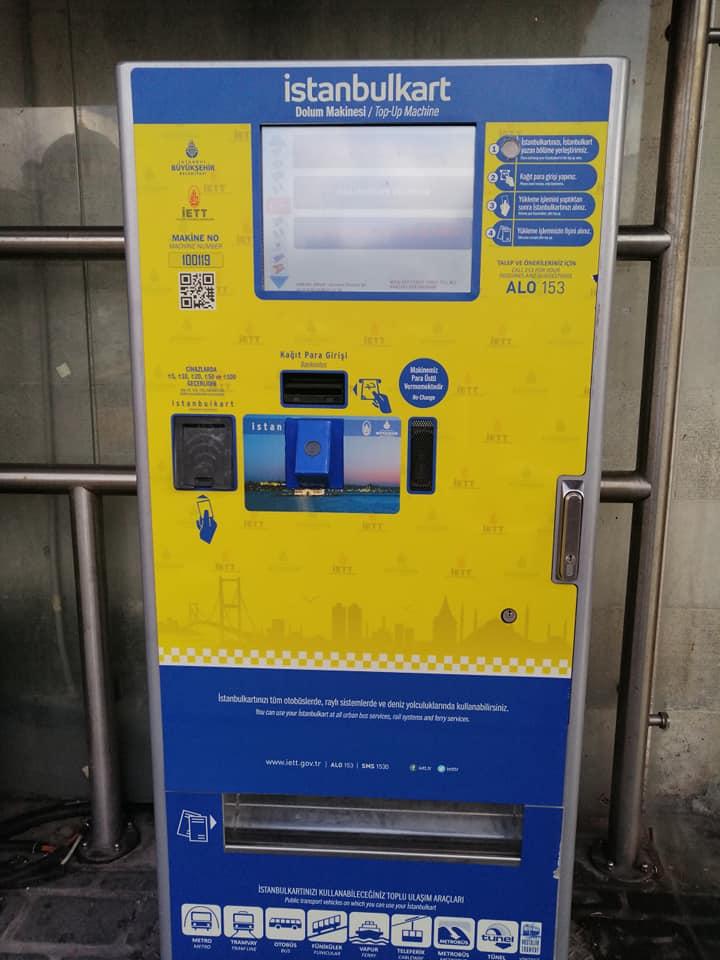 Istanbulkart Machine